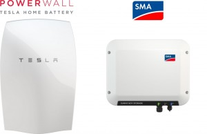 SMA-SMALLER-Powerwall-Logo-Tesla-Powerwall-Straight-Front-Single-SMA-Logo-Sunny-Boy-Storage-unit-1024x662